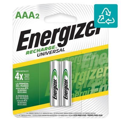 Pack de 2 pilas recargables AAA 850 mAh 1.2V