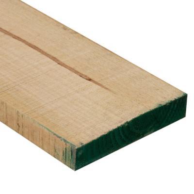 2 x 10 x 3,20 m Pino dimensionado verde