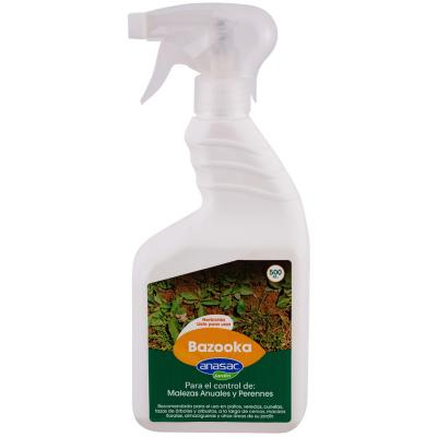 Herbicida para control de malezas Bazooka LPU 500 cc botella