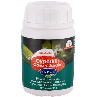 Insecticida Cyperkill 5 ec  para casa y jardín 100 ml frasco