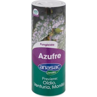 Fungicida para plantas Azufre 500 gr frasco