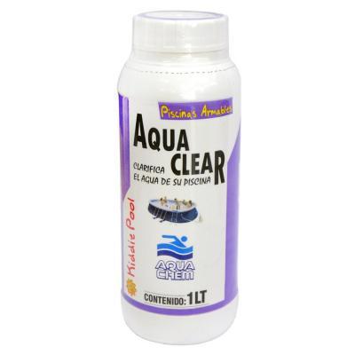 Clarificador para piscinas 1 litro frasco