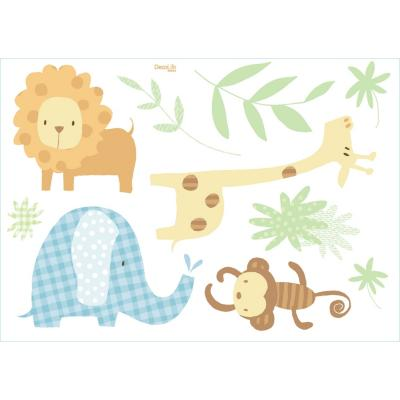 Wallsticker 50x70 cm animales