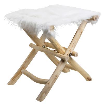 Piso con patas madera blanco