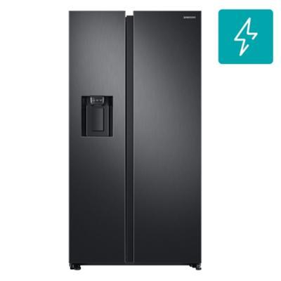 Refrigerador side by side Negro 617 litros