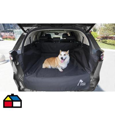 Protector asiento y maleta mascota polyester