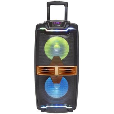Parlante bluetooth karaoke 80w