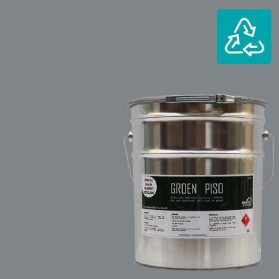 Tineta pintura piso gris sustentable