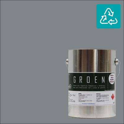 Galón pintura piso gris sustentable