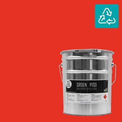 Tineta pintura piso roja sustentable