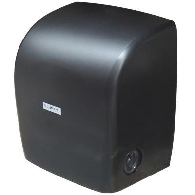 Dispensador toalla autocorte negro
