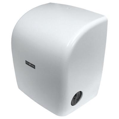 Dispensador toalla autocorte blanco