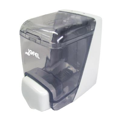 Dispensador jabón mini 400ml blanco