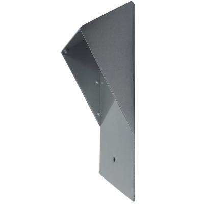 Protector de lluvia para placa exterior