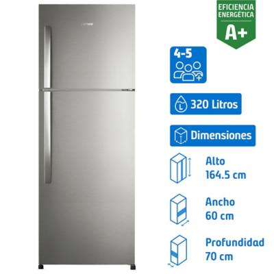Refrigerador no frost 320 litros