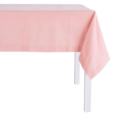 Mantel rectangular rosa 160x230