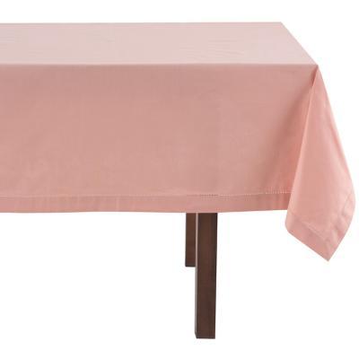Mantel cuadrado rosa 160x160