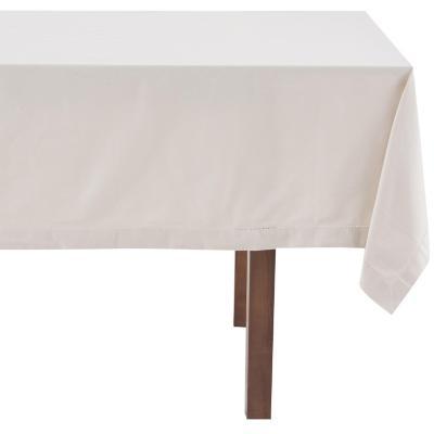 Mantel rectangular taupe 160x230