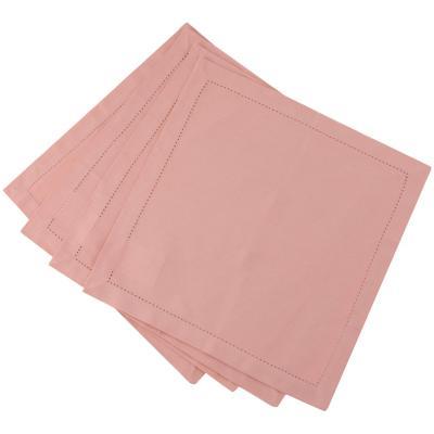 Set 4 servilleta rosa 40x40