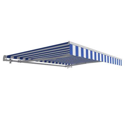 Toldo retráctil 2.90x2 m blan/azul
