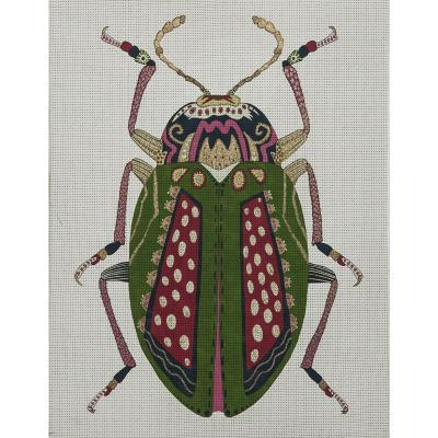 Canvas 30x40 cm Insecto verde