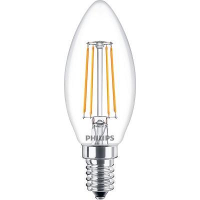 Ampolleta LED Classic 4-40W B35 E14 Cálida