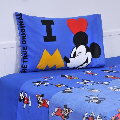 Sábana multicolor Mickey 90 Años 1,5 plazas