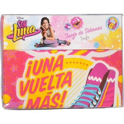 Sábana multicolor Soy Luna Fun 1,5 plazas