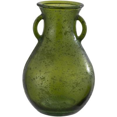 Jarrón antic verde 24 cm