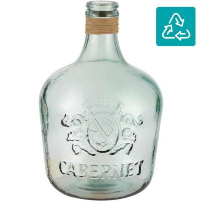 Botella Cabernet con rafia 42 cm 12 l