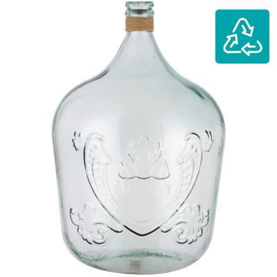 Botella Merlot con rafia 56 cm 34 l