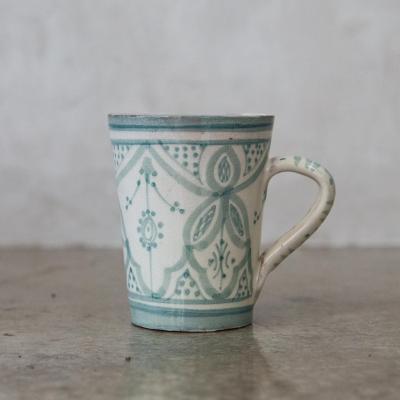 Taza Marroquí cerámica menta