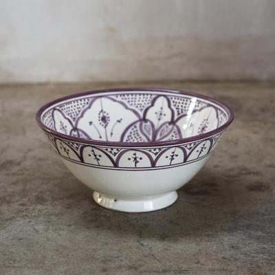 Bowl Marroquí 30,5 cm cerámica lavanda