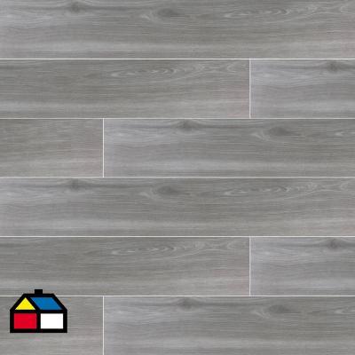 Porcelanato 20x120 cm gris 1,68 m2