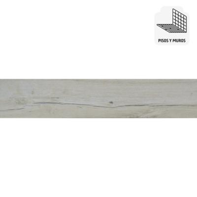 Porcelanato 22,5x90 cm gris 1,215 m2