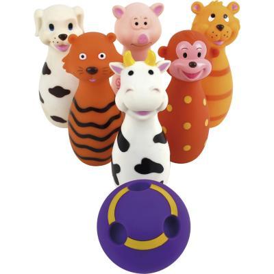 Bowling animal 7 piezas