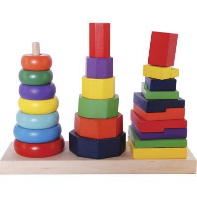 Encaje torre madera