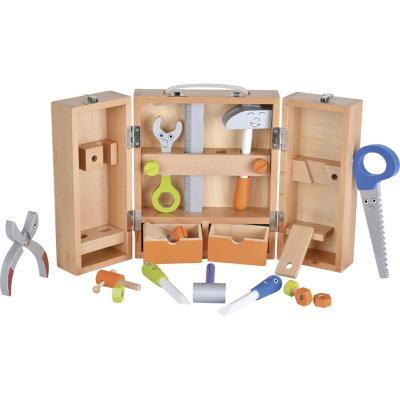 Herramienta con caja madera