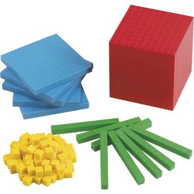 Base de 10 plástico 121 unidades