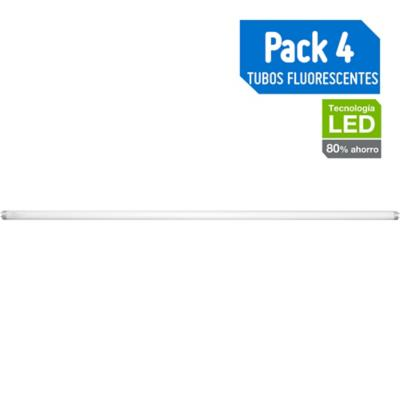 Pack de tubos fluorescentes G-13 36 W Fría 4 unidades
