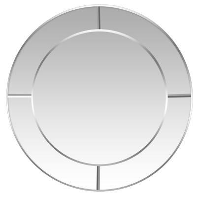Espejo redondo borde espejado 60 cm