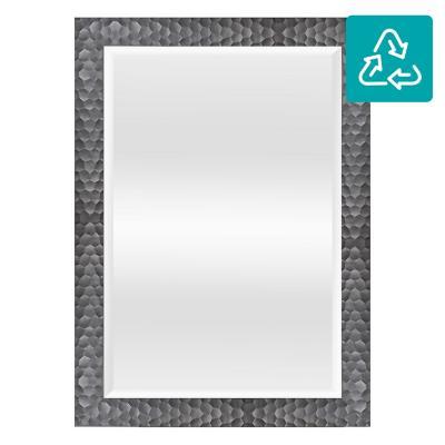 Espejo 78x108 cm gris