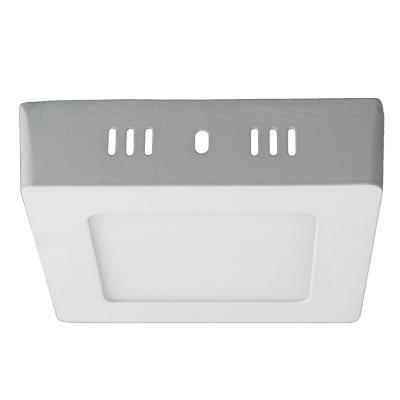 Panel LED sobrepuesto cuadrado 6 W luz día
