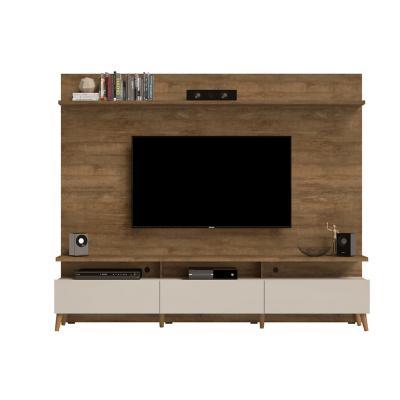 "Panel de TV 60 "" 218x40x180 Café / Blanco"