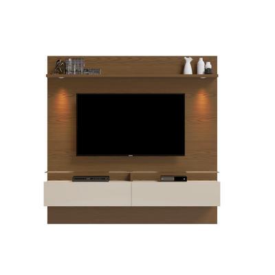 "Panel de TV 60 "" 182x40x180 Café / Blanco"