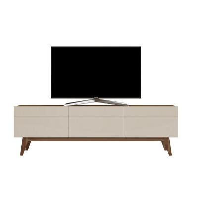 "Rack de TV 60 "" 180x40x52 Blanco/Café"