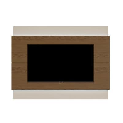 "Panel de TV 60 "" 180x6x128 Café / Blanco"