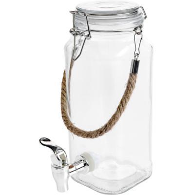Dispensador de vidrio 1850 ml transparente