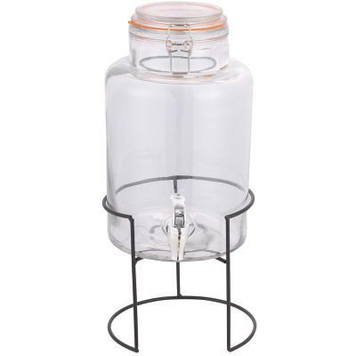 Dispensador de vidrio 5 l transparente