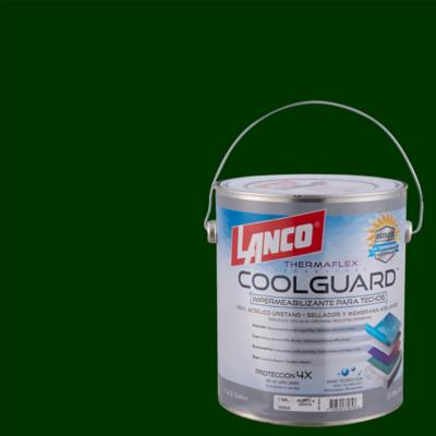 Sellador para techos coolguard 1 galon verde